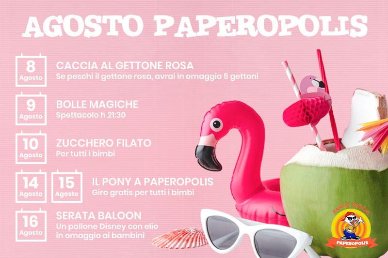 Paperopolis - Agosto Paperopolis